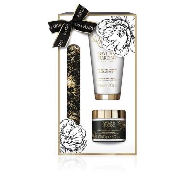 Set Sweet Mandarin & Grapefruit Luxury Hand Care Kit Signature Collection - Baylis & Harding - Crema de maini