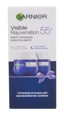 Set Visible Rejuvenation 55+ Duo Set - Garnier - Crema de zi