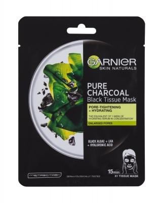 Skin Naturals Pure Charcoal Algae - Garnier - Masca de fata