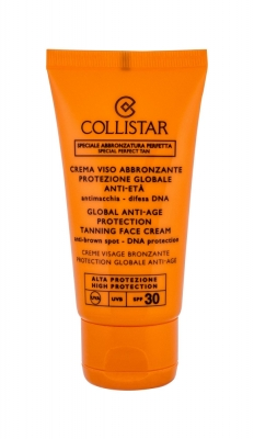 Special Perfect Tan Global Anti-Age Protection Tanning Face Cream SPF30 - Collistar - Protectie solara