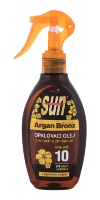 Sun Argan Bronz Suntan Oil SPF10 - Vivaco - Protectie solara