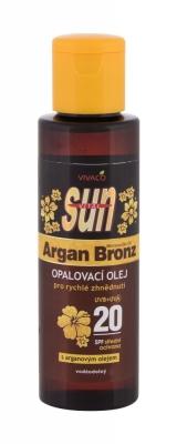 Sun Argan Bronz Suntan Oil SPF20 - Vivaco - Protectie solara