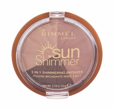 Sun Shimmer 3in1 - Rimmel London - Fard de pleoape