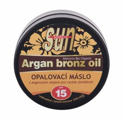 Sun Argan Bronz Oil SPF15 - Vivaco - Protectie solara