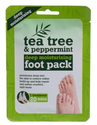 Tea Tree Tea Tree & Peppermint Deep Moisturising Foot Pack - Xpel - Crema de picioare