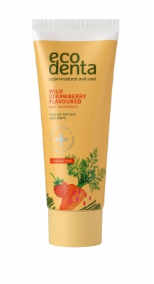 Toothpaste Wild Strawberry Flavoured - Ecodenta - Igiena dentara