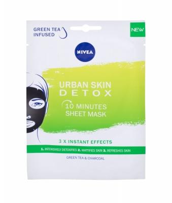 Urban Skin Detox 10 Minutes Sheet Mask - Nivea - Masca de fata
