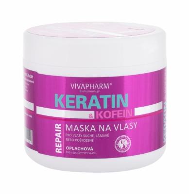 VivaPharm Keratin & Caffeine - Vivaco - Masca de par
