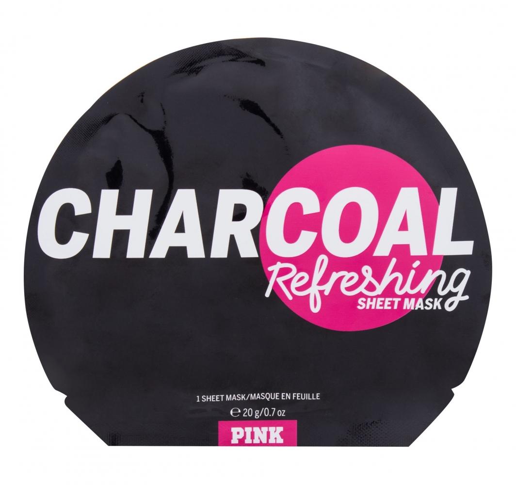 Mergi la Charcoal Refreshing Sheet Mask - Pink - Masca de fata
