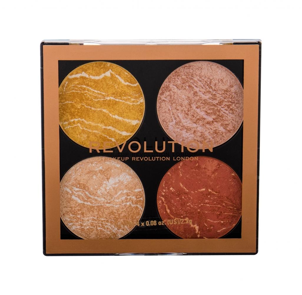 Mergi la Cheek Kit - Makeup Revolution London - Iluminator