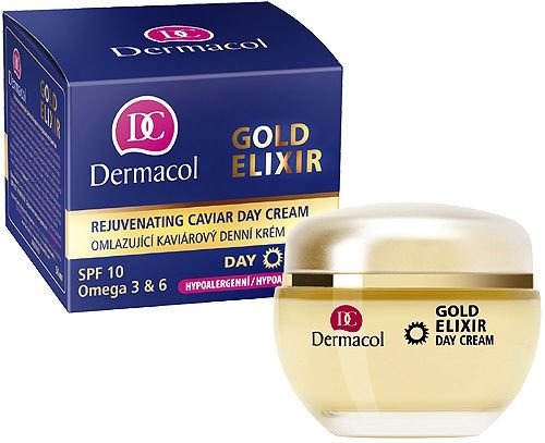 Mergi la Gold Elixir - Dermacol - Crema de zi